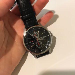 Seiko men's chronograph watch SNDE29